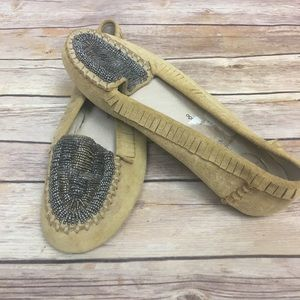 House of Harlow Beaded Millie Loafers, Sz 38 ( 8)